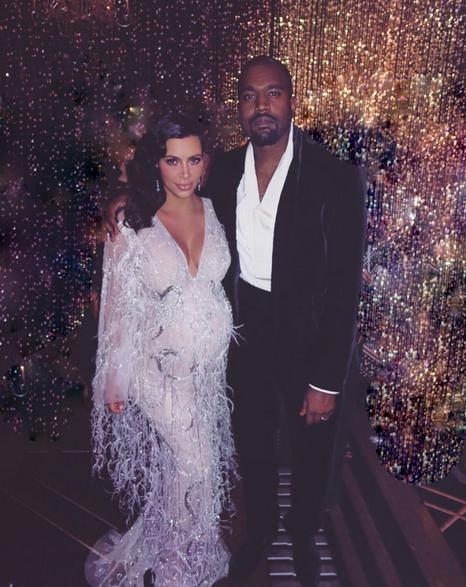Kim Kardashian et Kanye West sont les rois de la nuit