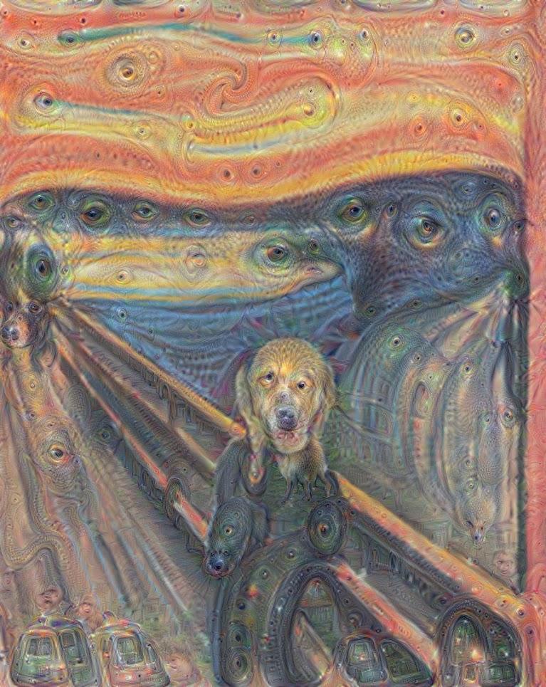 """Une deuxième réinterprétation de """"Le Cri"""" d'Edvard Munch"""