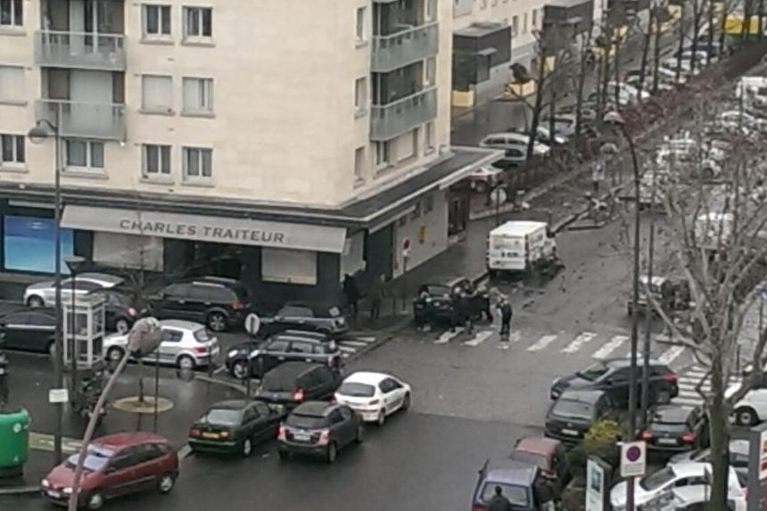 Le quartier autour du supermarche casher a été complètement bouclé