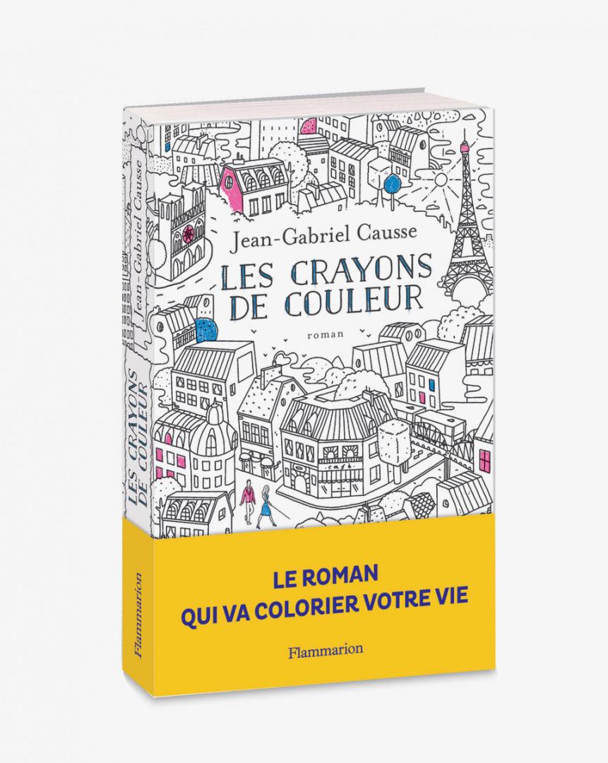 """Le livre """"Les crayons de couleur"""""""