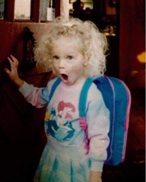 6 - Le 13 décembre, Taylor Swift a partagé cette photo d'enfance à l'occasion de ses 26 ans