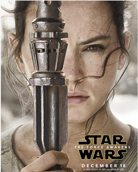 """Rey est au cœur de la dernière bande-annonce de """"Star Wars 7"""""""