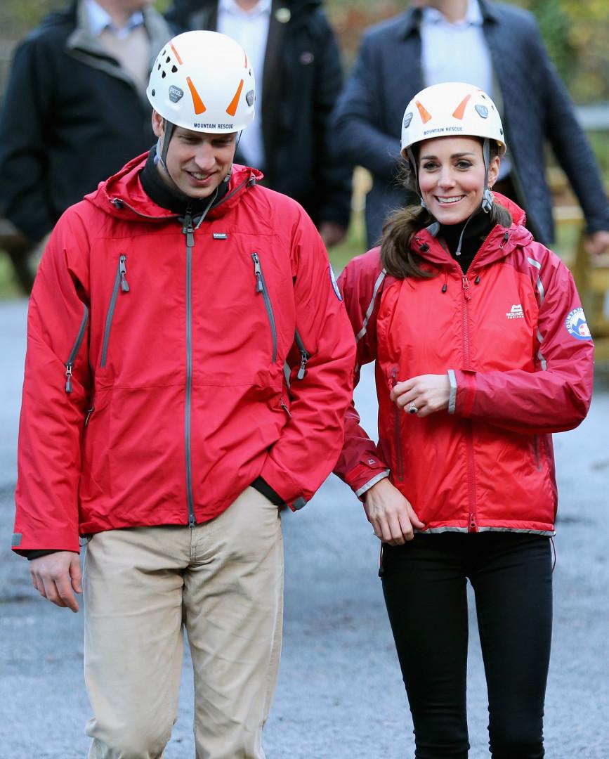 Kate Middleton et le prince William étaient en visite dans le nord du Pays de Galles