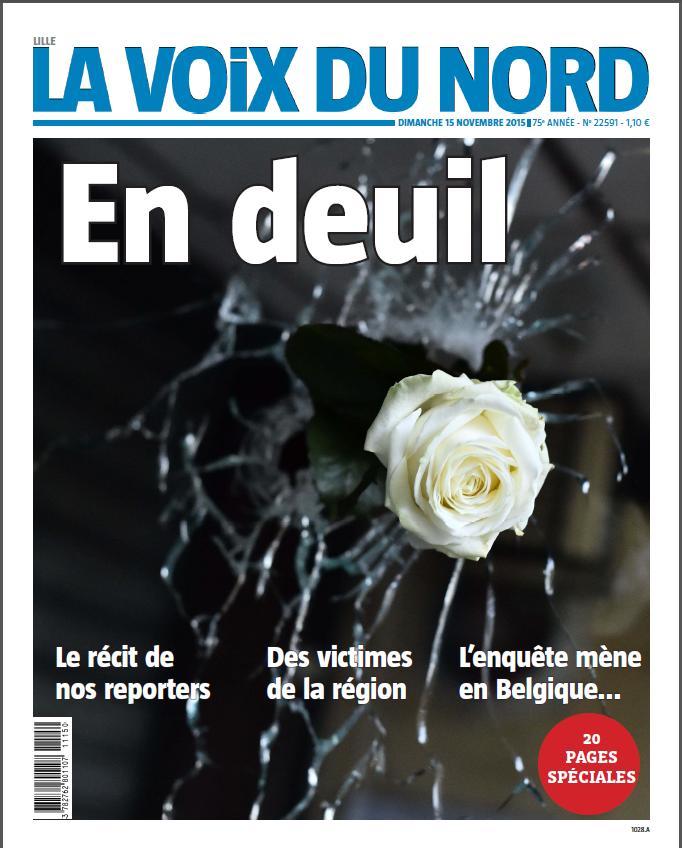 """La Voix du Nord est """"En deuil"""""""