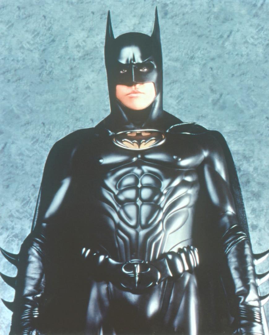 """""""Batman Forever"""" (1995) avec Val Kilmer, version abdos à gogo"""