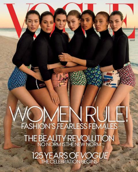 Ashley Graham, mannequin grande taille, est ravie de sa présence sur la couverture de l'édition de Mars du Vogue américain