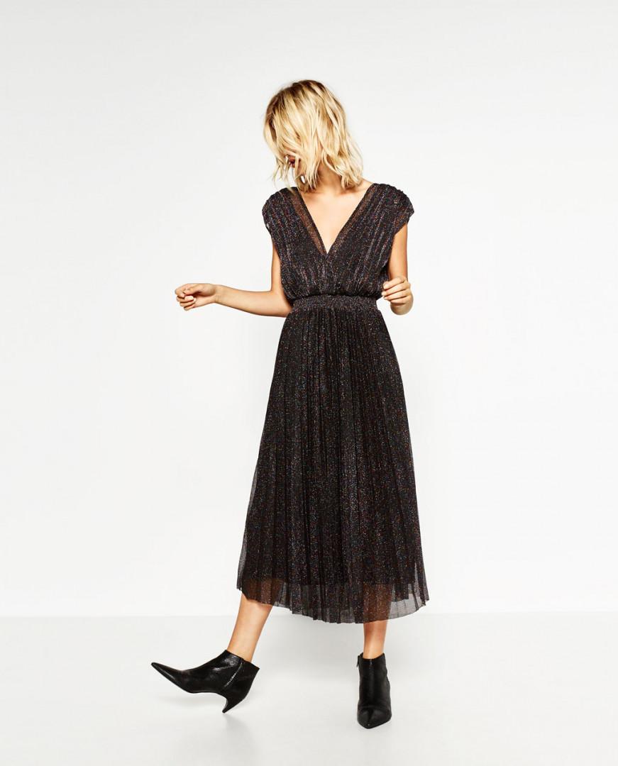Robe plissée - Zara (59,95€)