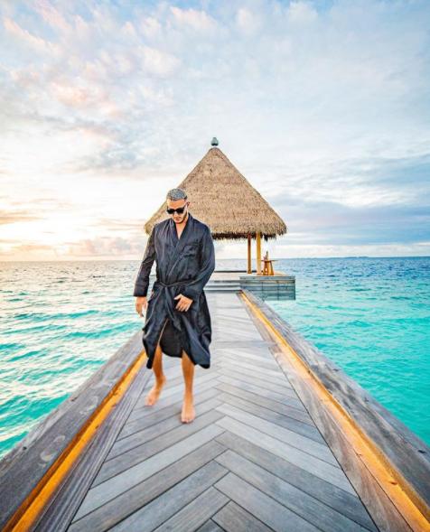 DJ Snake a choisi les Maldives comme lieu de vacances