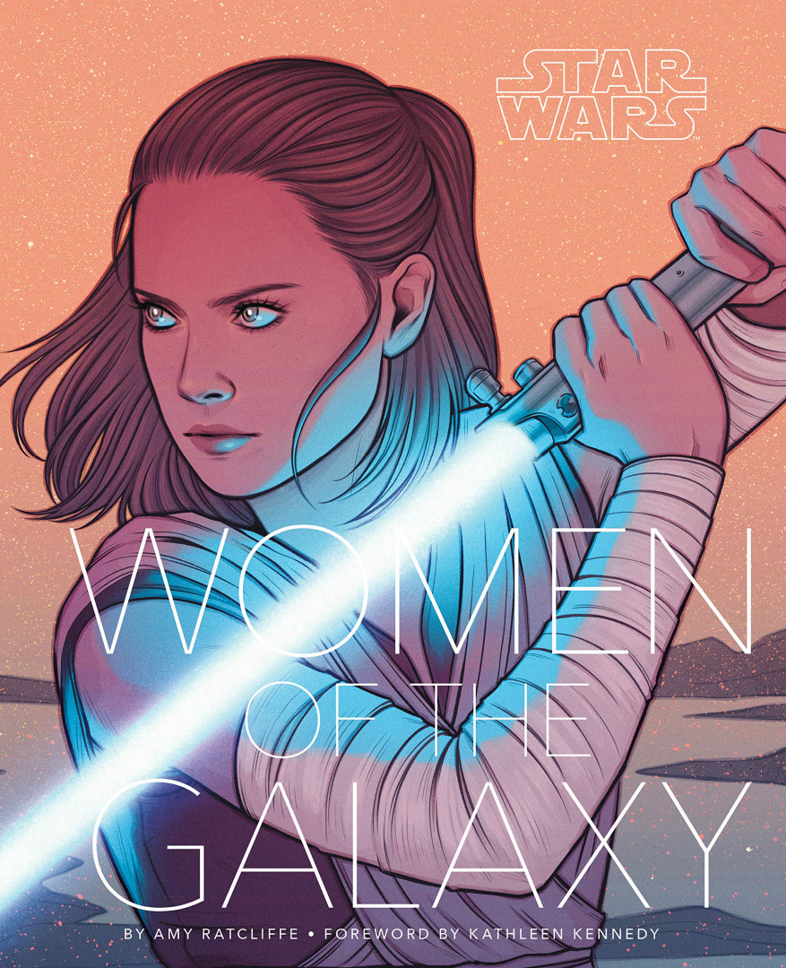"""L'oeuvre """"Star Wars: Women of the Galaxy"""" (30 euros)"""