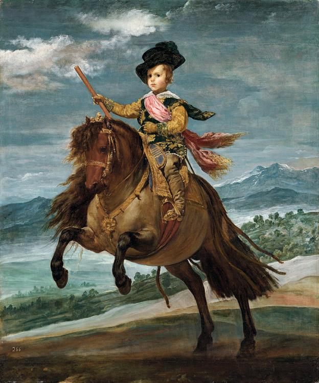 Carlos Balthasar sur son poney