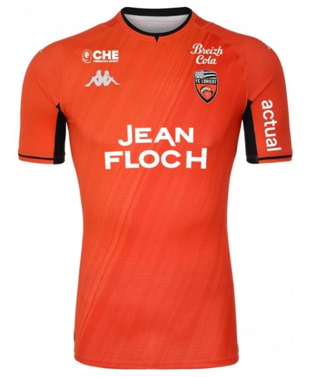 Le maillot domicile de Lorient pour la saison 2021-2022