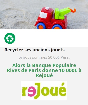 COP21chacunagit Recycler ses anciens jouets