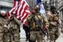 Des membres d'un groupe pro-armes, près du Capitole de l'État le 18 janvier 2021 à Richmond, en Virginie.