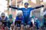 L'Irlandais Sam Bennett a remporté la 1re étape du Paris-Nice, le 7 mars 2021 à Saint-Cyr-l'Ecole (Yvelines)