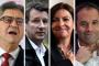 Jean-Luc Mélenchon, Yannick Jadot, Anne Hidalgo et Benoît Hamon