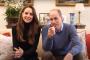 Kate et William lors de la présentation de leur chaîne YouTube