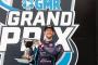 Romain Grosjean sur le podium au GP d'Indianapolis