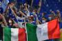 Les supporters italiens à Rome pour l'inauguration de l'Euro 2021