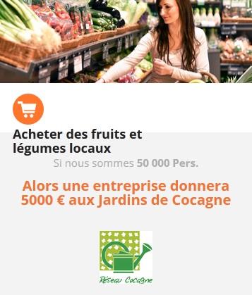 COP21chacunagit Acheter des fruits et légumes locaux