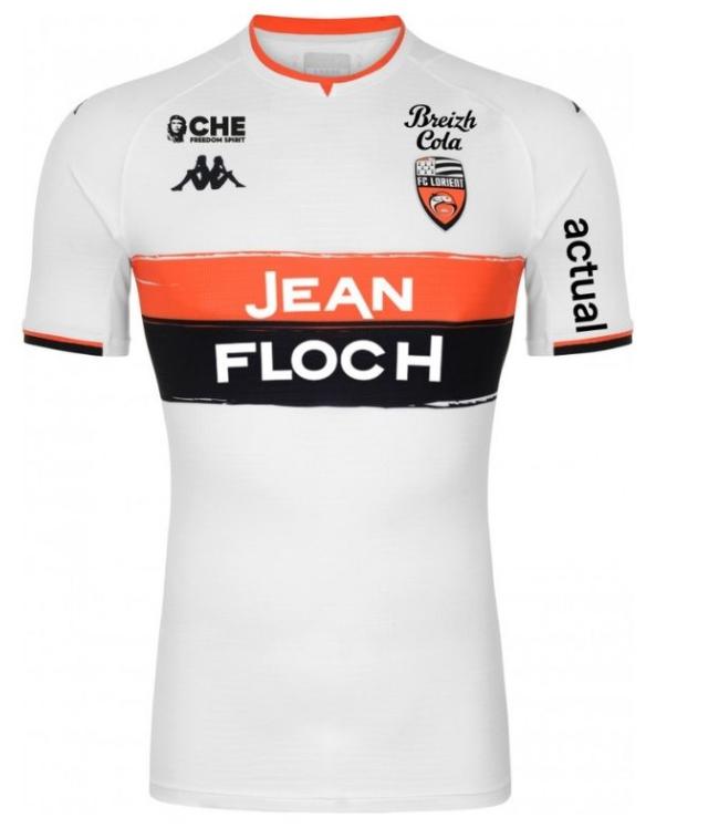 Le maillot extérieur de Lorient pour la saison 2021-2022