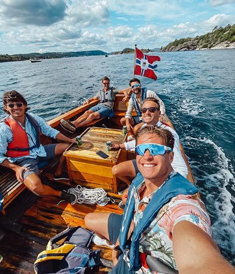 Kygo profite de ses vacances pour sillonner la mer avec ses amis