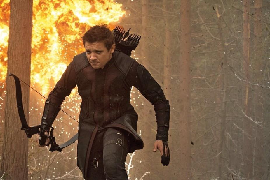 """2 - Œil de Faucon (Jeremy Renner) est """"le moins impressionnant de tous"""""""
