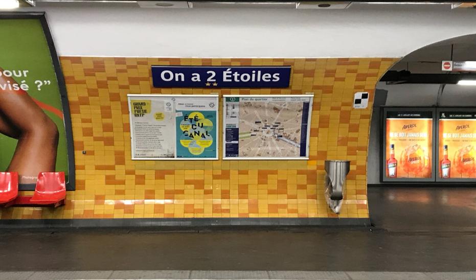 La station Charles-de-Gaulle - Étoiles