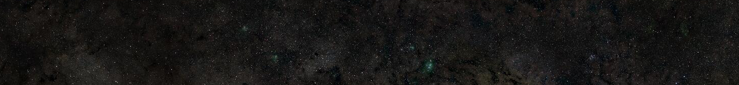 Une partie du panorama de la Voie lactée, sans zoom