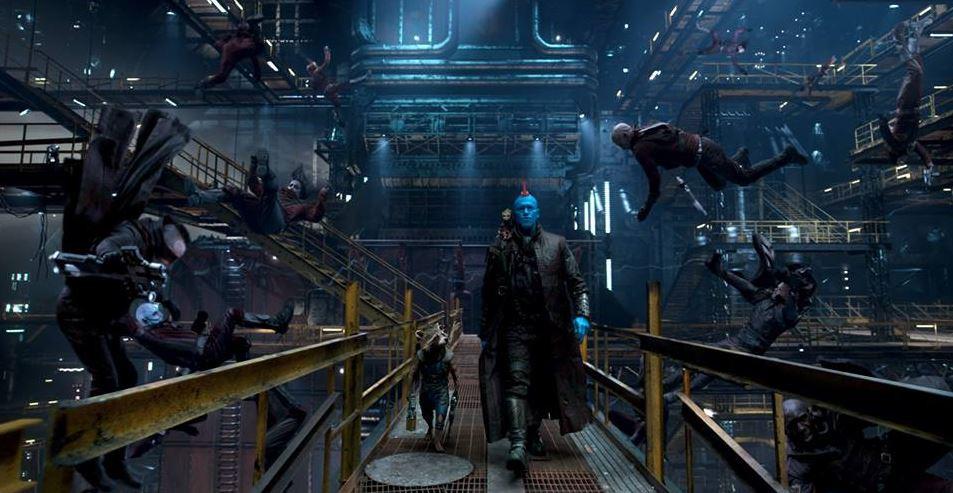 Dans ce deuxième volet, une équipe peu probable composée de Rocket, Kid Groot et Yondu
