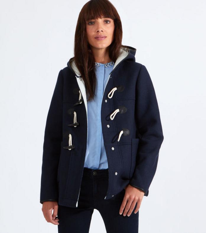 Duffle coat à capuche, Etam, 35,98 euros au lieu de 89,95 euros