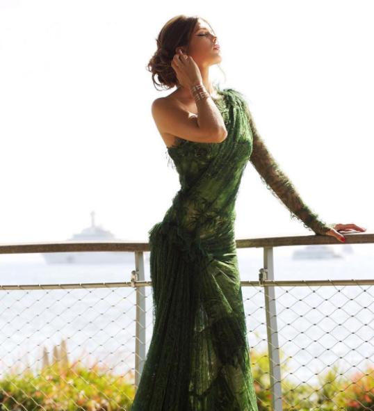 """Elle s'est rendue à la montée des marches du film """"Les Proies"""" de Sofia Coppola"""