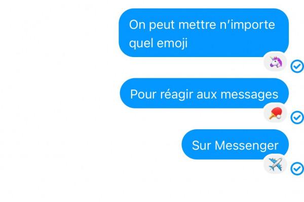 Messenger Vous Laisse Reagir Aux Messages Avec Tous Les Emojis Voici Comment Faire