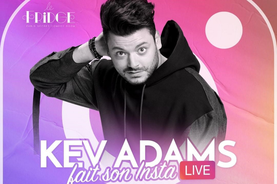 Kev Adams en live Instagram
