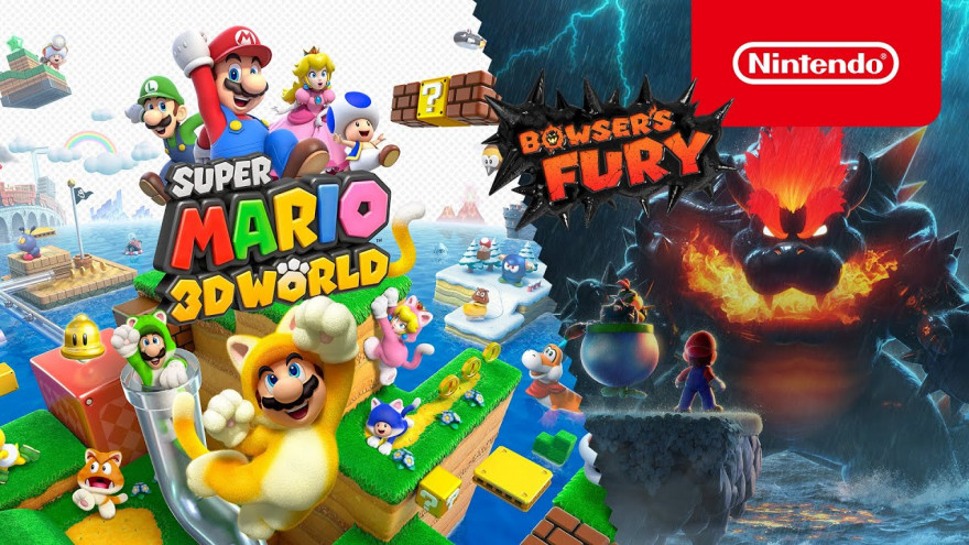 """Super Mario 3D World + Bowser's Fury"""