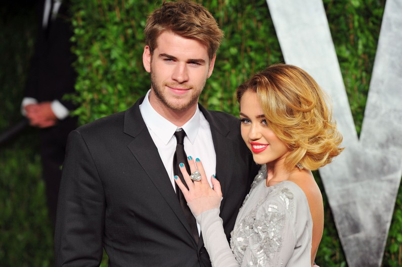 Miley Cyrus et Liam Hemsworth  prêts à se marier