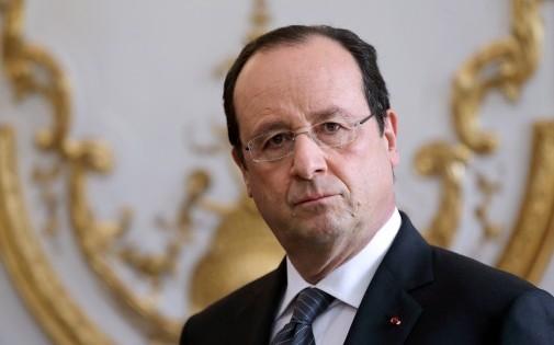 François Hollande à l'Élysée le 3 janvier 2014.
