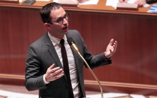 Benoît Hamon, le 17 décembre, à l'Assemblée Nationale. (archives)