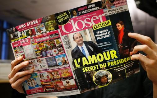 Dans son numéro paru vendredi 10 janvier, le magazine Closer affirme que François Hollande entretient une liaison avec Julie Gayet
