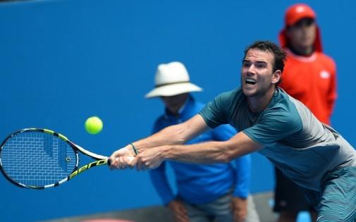 Adrian Mannarino a mis en difficulté pendant 2 sets le numéro 3 mondial, David Ferrer.