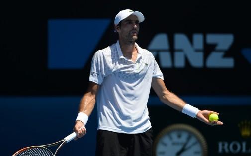 Le Français, Jérémy Chardy, n'a accroché l'Espagnol, David Ferrer, que lors du 2e set, ce vendredi 17 janvier à Melbourne.