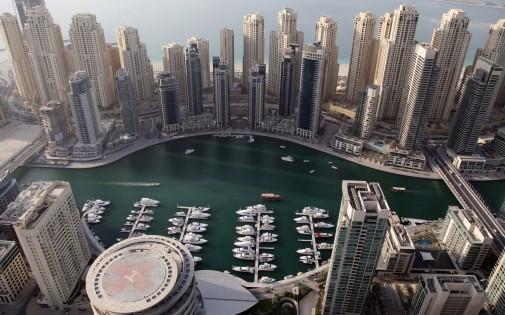 Une partie de la marine de Dubaï en 2012