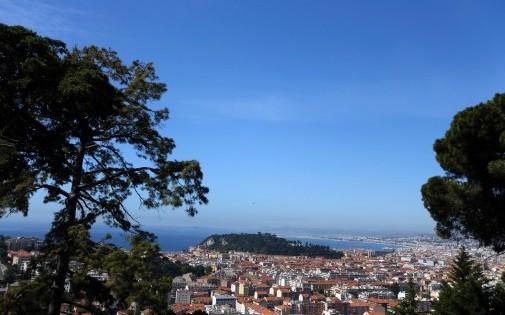 Vue générale de Nice (Alpes-Maritimes).