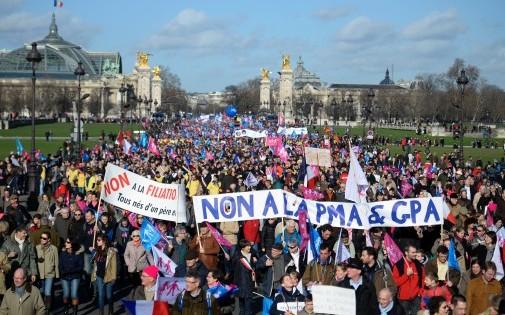 """""""La Manif pour tous"""" redescend dans la rue dimanche 2 février 2014"""