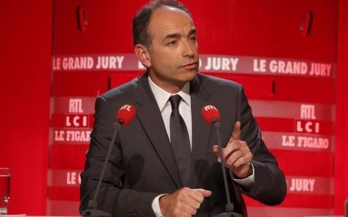 """Jean-François Copé au """"Grand Jury"""" dimanche 9 février."""