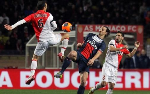Zlatan Ibrahimovic lors de MOnaco-PSG le 9 février 2014