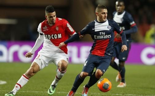 Marco Verratti et les Parisiens n'ont pas pu prendre le meilleur sur l'AS Monaco d'Emmanuel Rivière