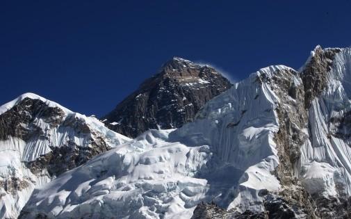Le mont Everest, le 4 décembre 2009.