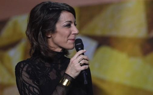 Virginie Guilhaume a présenté les 29e Victoires de la Musique vendredi 14 février 2014