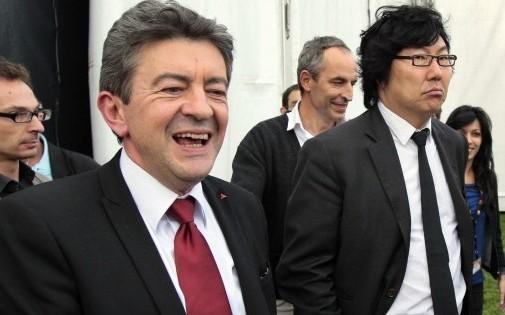 Jean-Luc Mélenchon (PG) et Jean-Vincent Placé (EELV)