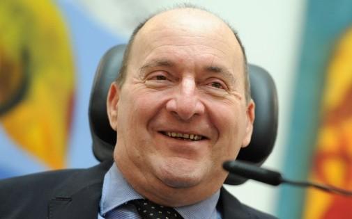 """Philippe Pozzo di Borgo, l'homme qui a inspiré le film """"Intouchables""""."""